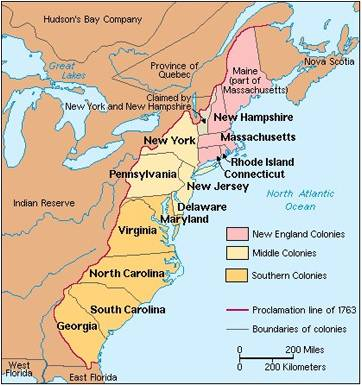 13 Colonies Jigsaw Activity