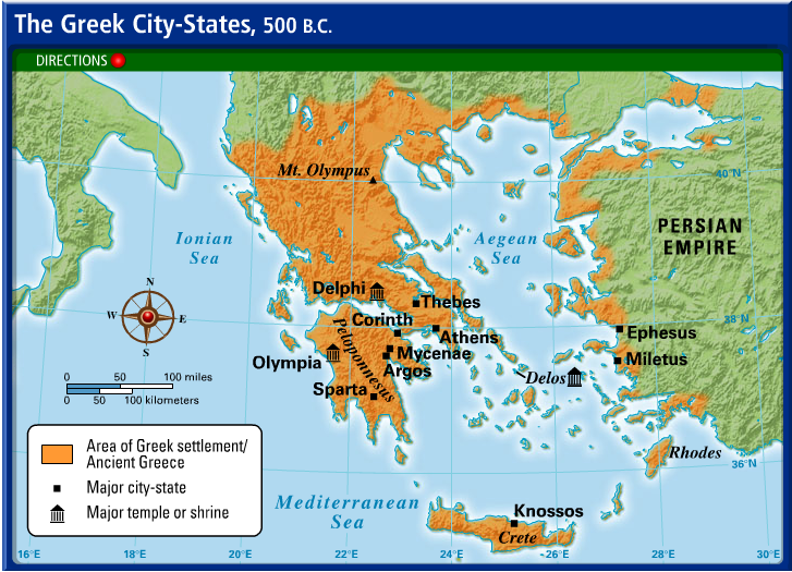 Interactive Map... Hellenistic Culture