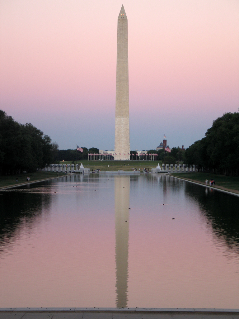 Washington monument for Facts about the monument