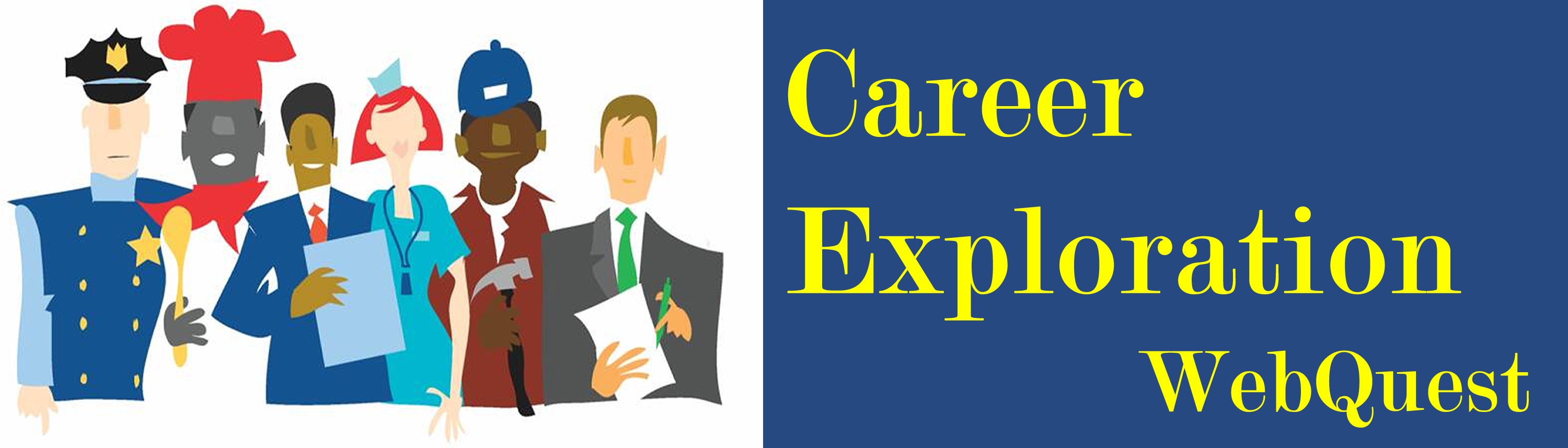 career exploration webquest teacher page