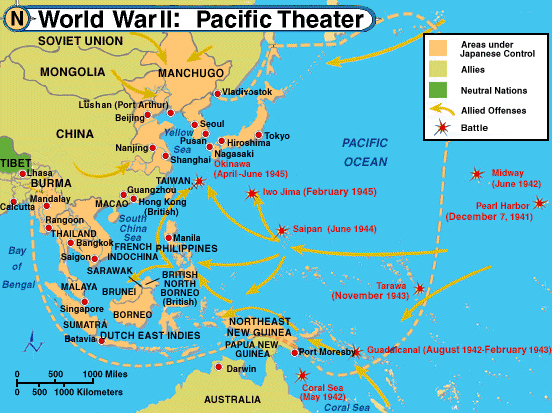 WWII: Pacific Battles by Robin H on Prezi