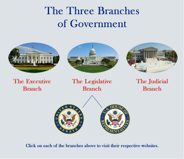 how our government is divided: