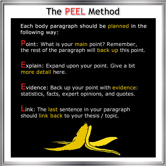peel essay technique